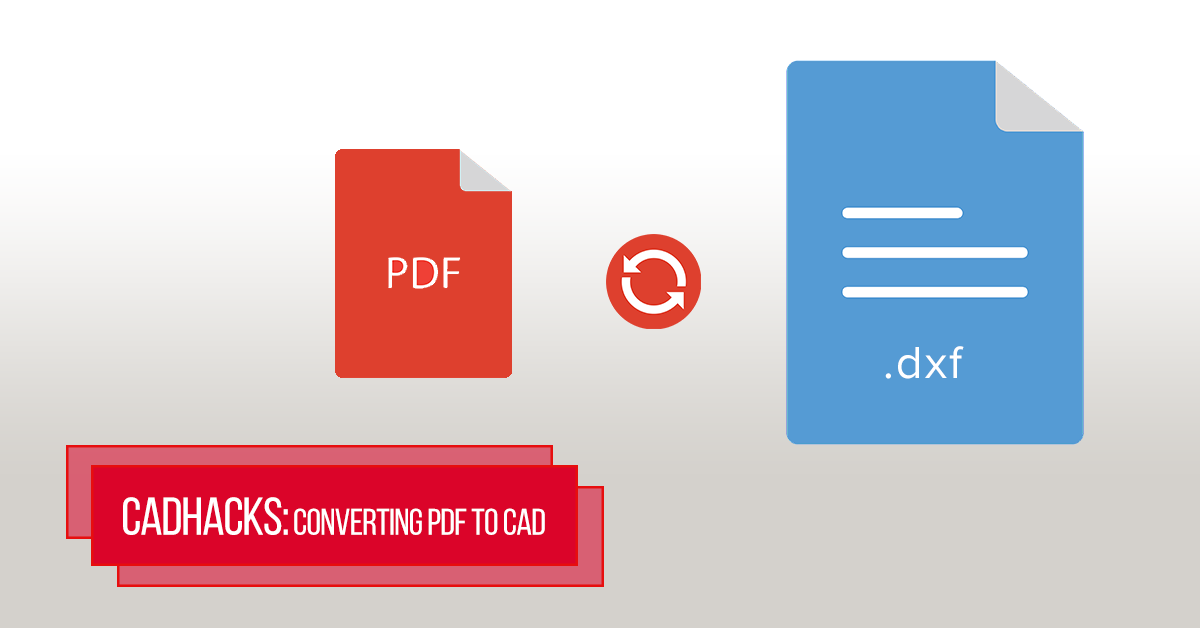 PDF-to-CAD-file-conversion