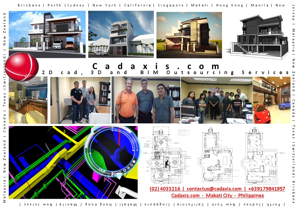 Cad 3d Bim Drafting Outsourcing Services Cad Axis 3d Autocad Drafting Services Bim Services Philippines